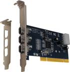 Unibrain FireBoard Blue 3-port 1394a PCI Adapter (1205)
