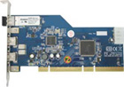 Unibrain FireBoard-800 Glass Optical Fiber (LC-type) to PCI Host Adapter (1231)