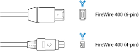 FireWire 400 Connector Diagrams