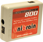 Unibrain FireRepeater 800 3-port 1394b FireWire Repeater (2501)